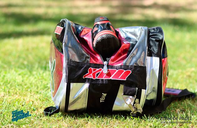 paletero-nox-team-rojo-zapatillas