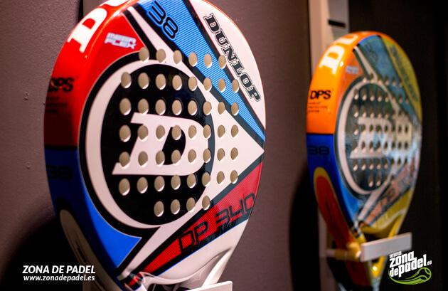 Nuevas palas Dunlop DP, las ultraligeras del Pádel