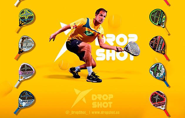 4 palas Drop Shot para comprar en rebajas