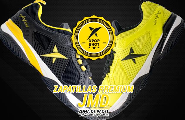 Las zapatillas de Juan Martín Díaz al detalle