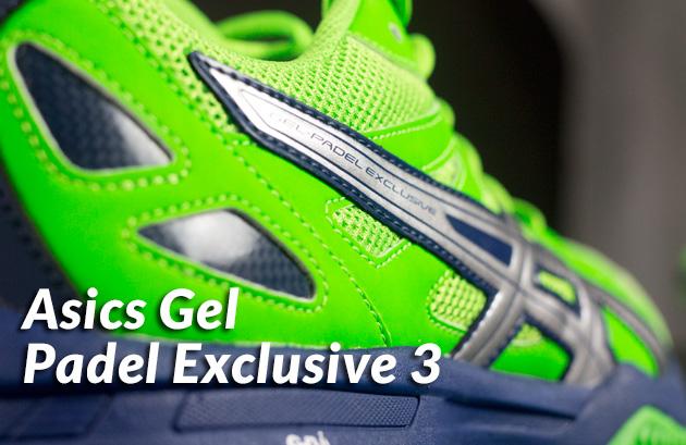 Analizamos las Asics Gel Padel Exclusive 3