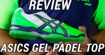 Review Zapatillas de Padel Asics Gel Padel Top Otoño 2014