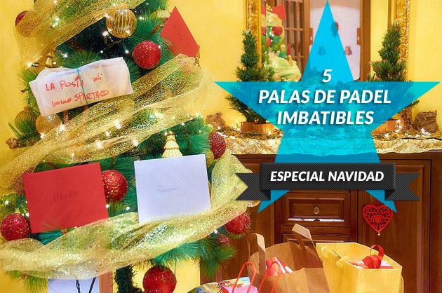 Las 5 palas de padel imbatibles de esta Navidad