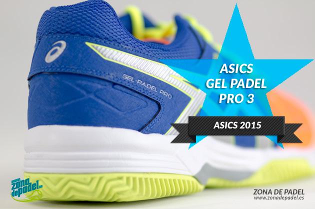 Asics Gel Padel Pro 3 2015, colores increibles