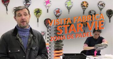 Zona de Padel visita la fabrica de Star Vie