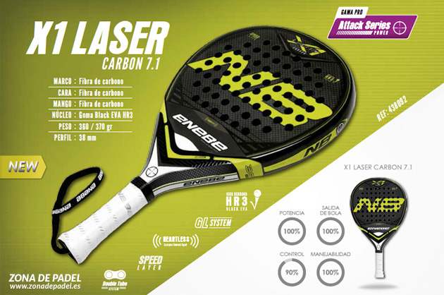 Review Pala Enebe X1 Laser 2015
