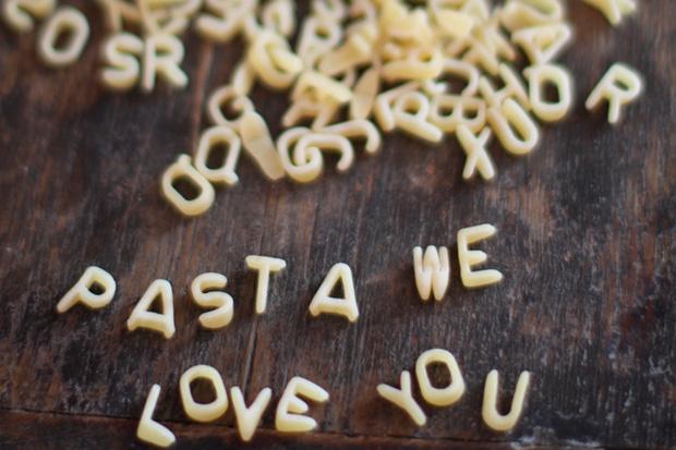 La pasta es rica en carbohidratos