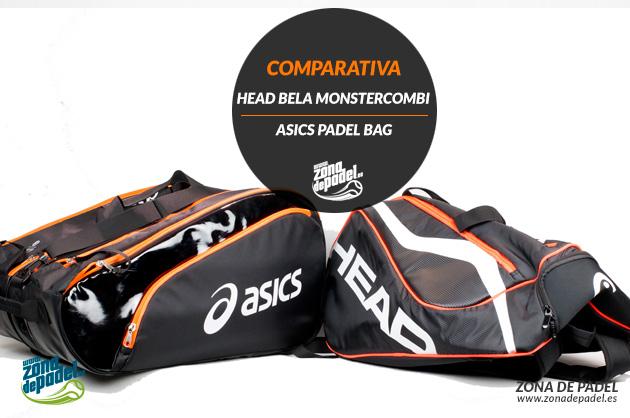 Comparativa paletero Head Monstercombi VS Asics Padel Bag