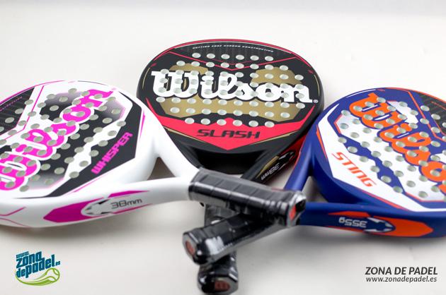 Nueva gama media de palas Wilson 2015
