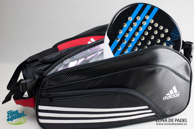 Review Paletero Adidas Power Bag Black - Zona de Padel 8c3ee0f9390d5