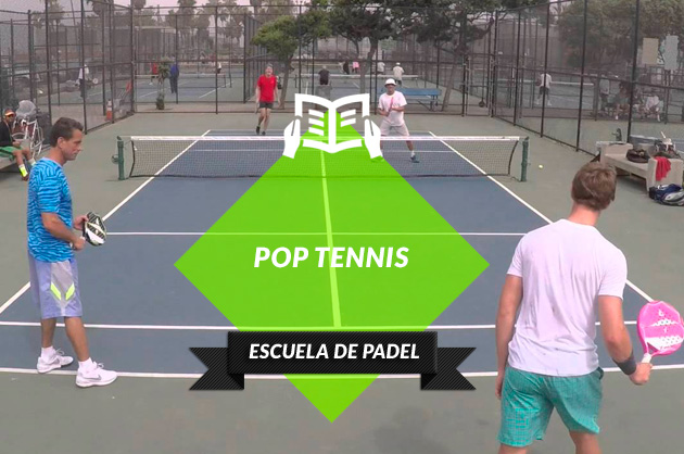Pop tenis, nueva moda similar al pádel