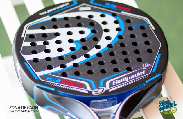 Pala de Pádel BullPadel K3 PRO 2015: confianza y precisión en tus jugadas