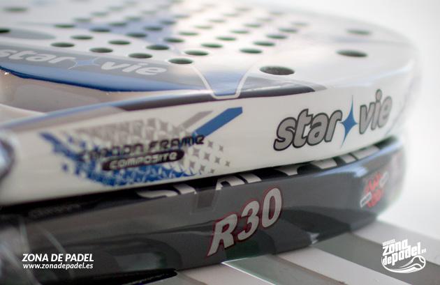 REVIEW Pala Star Vie Piramid R30 y Pala Star Vie Evo C3