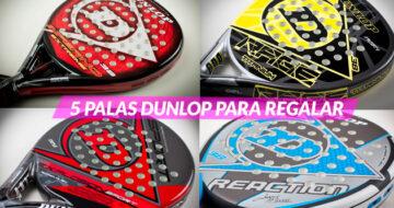 5 palas Dunlop en oferta para regalar en Reyes