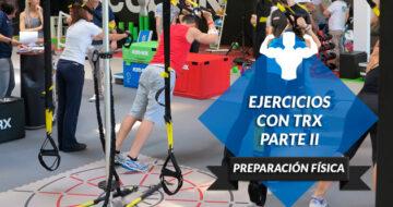 Más ejercicios con TRX para seguir mejorando como jugador de pádel