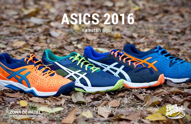 40ecaee66 Presentamos la nueva colección de zapatillas de padel Asics 2016 ...