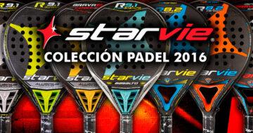 Presentación palas de pádel Star Vie 2016