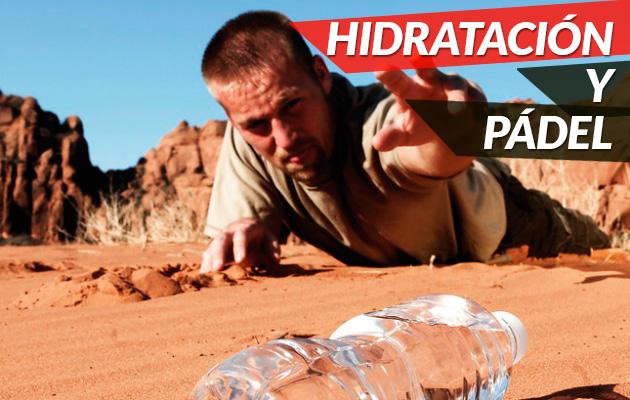 Cómo hidraterse durante y antes de jugar a pádel
