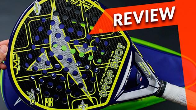 Video Review pala Drop Shot Conqueror 4.0