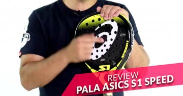 REVIEW Pala Asics S1 Speed 2016