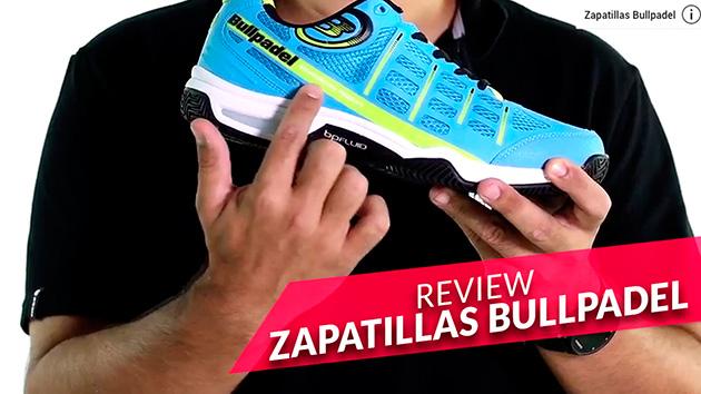 Nuevas zapatillas de pádel Bullpadel 2016
