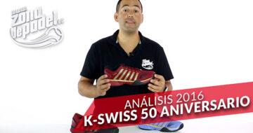 Kswiss celebra su 50 aniversario con 3 zapatillas