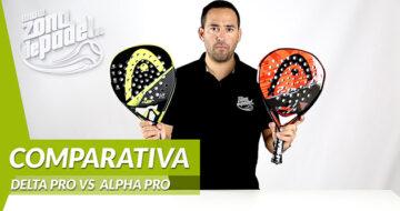 Comparativa HEAD Delta Pro VS ALPHA PRO