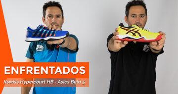 Comparativa zapatillas Asics Bela 5 VS Kswiss Hypercourt
