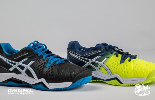 Zapatillas Asics Resolution 6 con nuevos colores para invierno