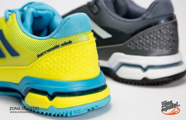 quality design d7cac 14243 Zapatillas Adidas Barricade Club Clay Grises 2017