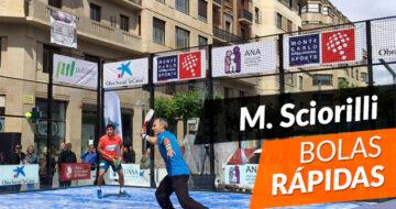 Miguel Sciorilli: Qué hacer cuando viene una bola rápida