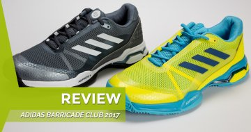 Review Zapatillas Barricade Club 2017