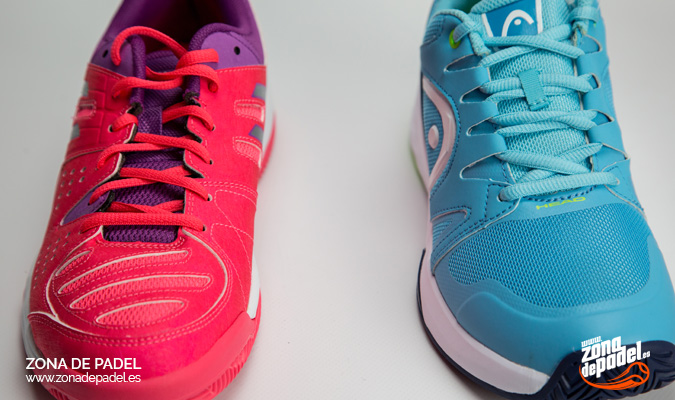 Comparativa de zapatillas de mujer Head Nitro Team VS Asics