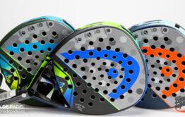Las tres palas incorporan un diseño en forma de lágrima o diamante que aporta un gran potencia...