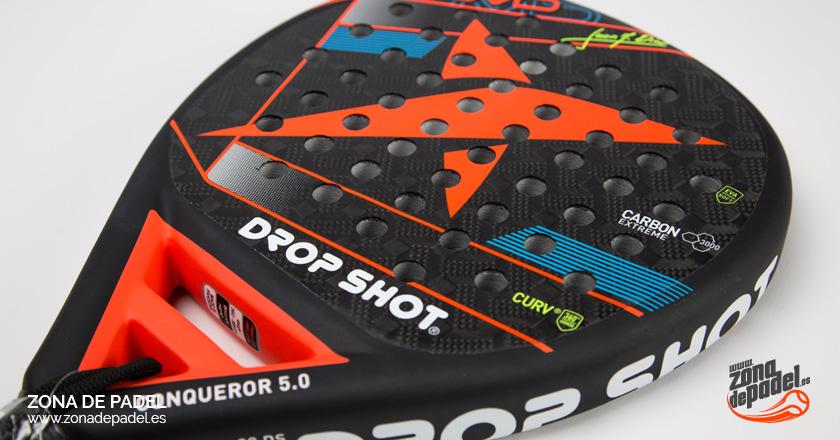 Review de la pala de pádel Drop Shot Conqueror 5.0 2017
