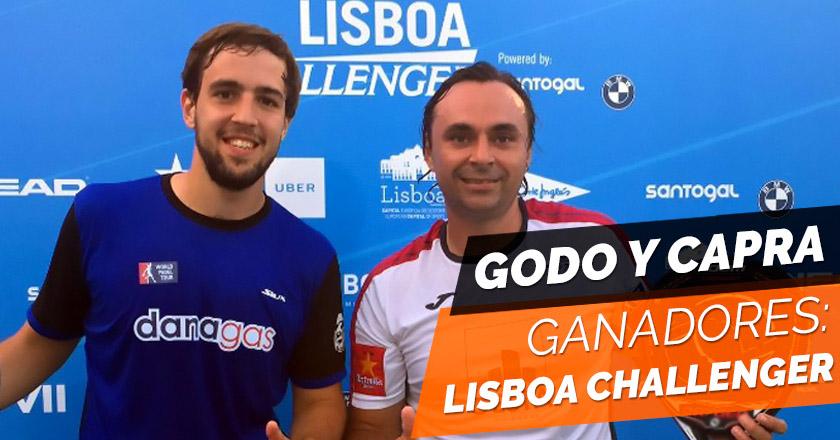 Godo Díaz y Lucho Capra se coronan campeones del Lisboa Challenger 2017