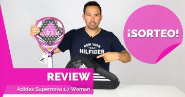 Review de la pala de Martita Ortega: la Adidas Supernova 2017