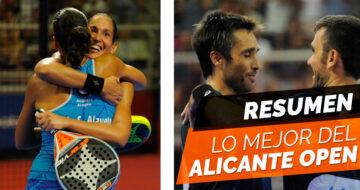 En resumen, lo mejor del Estrella Damm Alicante Open 2017