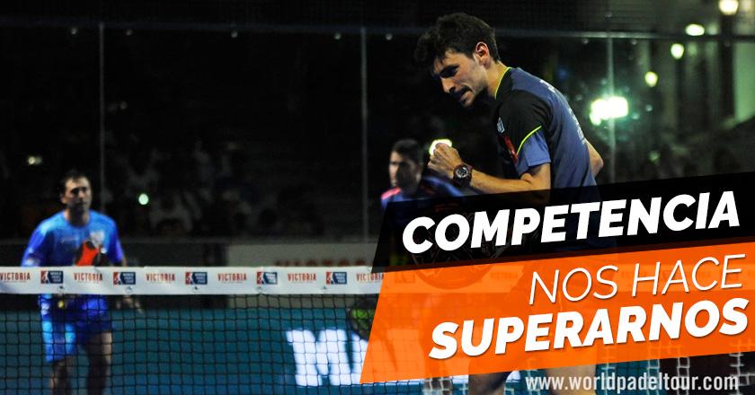 La competencia en el deporte es buena, nos hace superarnos