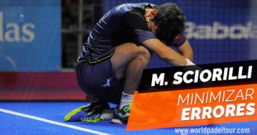 Miguel Sciorilli: cómo minimizar los errores en el pádel