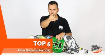 Las 5 mejores palas de pádel polivalentes del 2017
