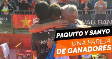 Paquito Navarro y Sanyo Gutiérrez: una gran pareja de campeones