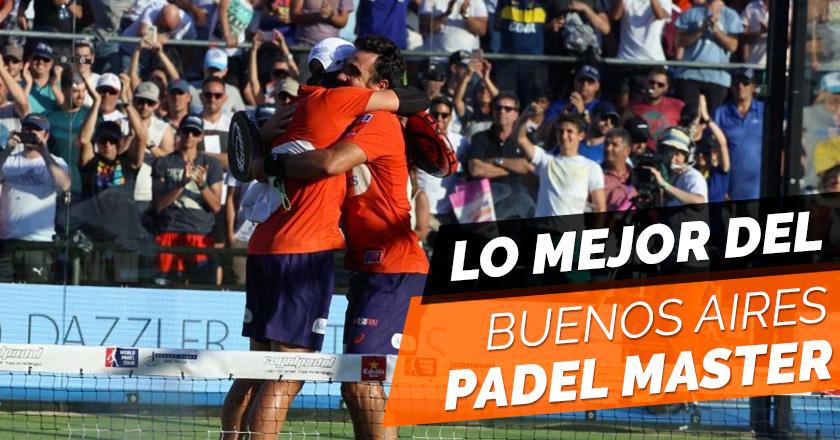 Bela y Lima lo vuelven a hacer en el Buenos Aires Padel Master