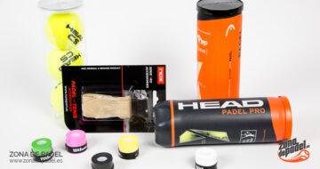 Complementos de pádel: accesorios muy útiles para completar la equipación