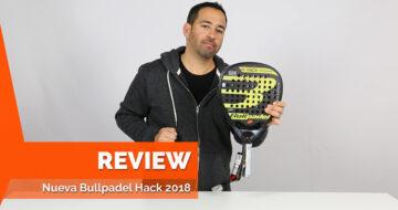 Paquito Navarro y su nueva pala Hack 2018 preparados para el próximo WPT