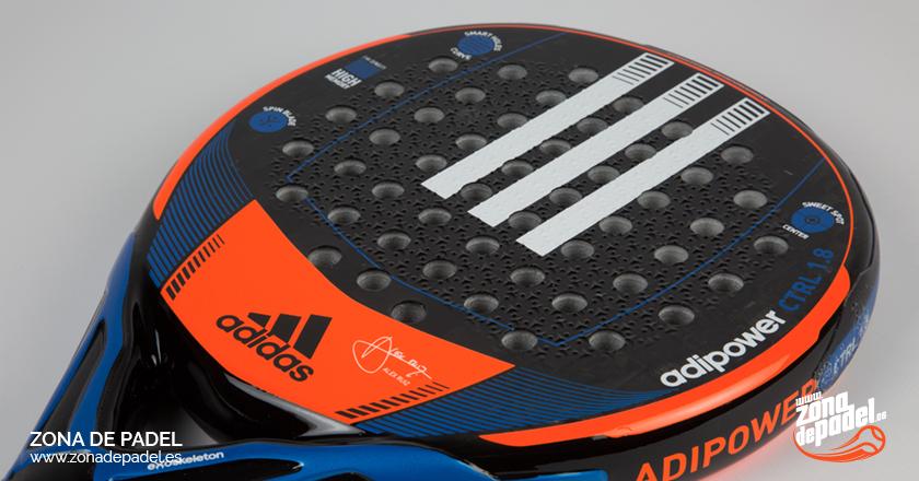 Análisis pala Adipower Control 1.8 de Adidas: situación controlada