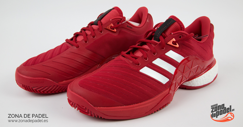 Review de las zapatillas Adidas Barricade Boost Rojas 2018