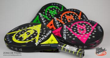 Colección de palas para pádel Dunlop 2018: palas de otra galaxia