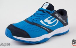 Bullpadel ha desarrollado estas zapatillas para jugadores que buscan un calzado de pádel que...