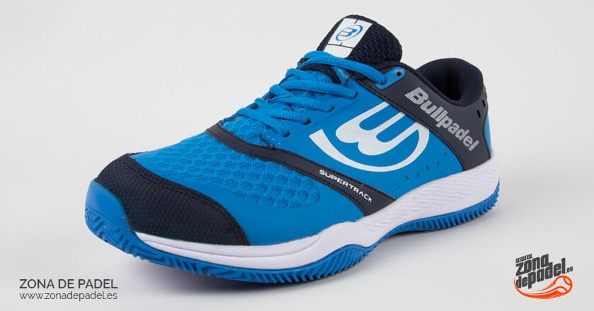 Bullpadel Betax 2018 en color azul, unas zapatillas de alto rendimiento